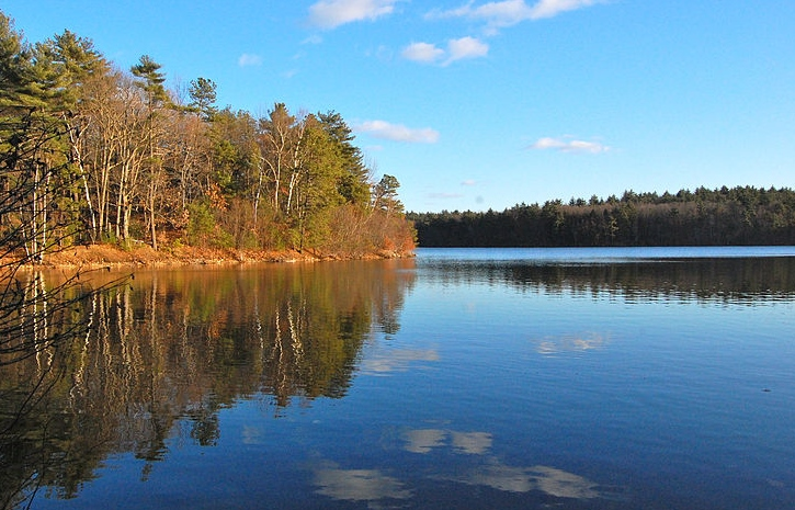 Walden Pond. (ptwo/Wikipedia)